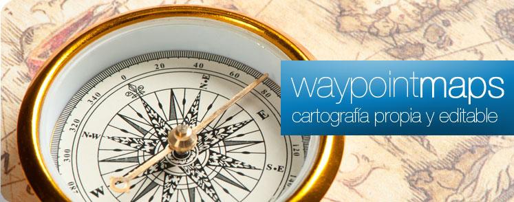 Waypoint Maps, herramientas cartograficas avanzadas